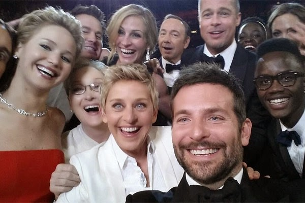 Oscar's Ellen Selfie Is Worth Almost a Billion