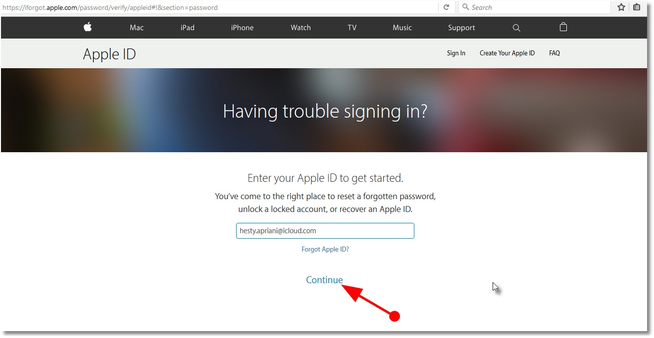 how to change password for icloud on phone