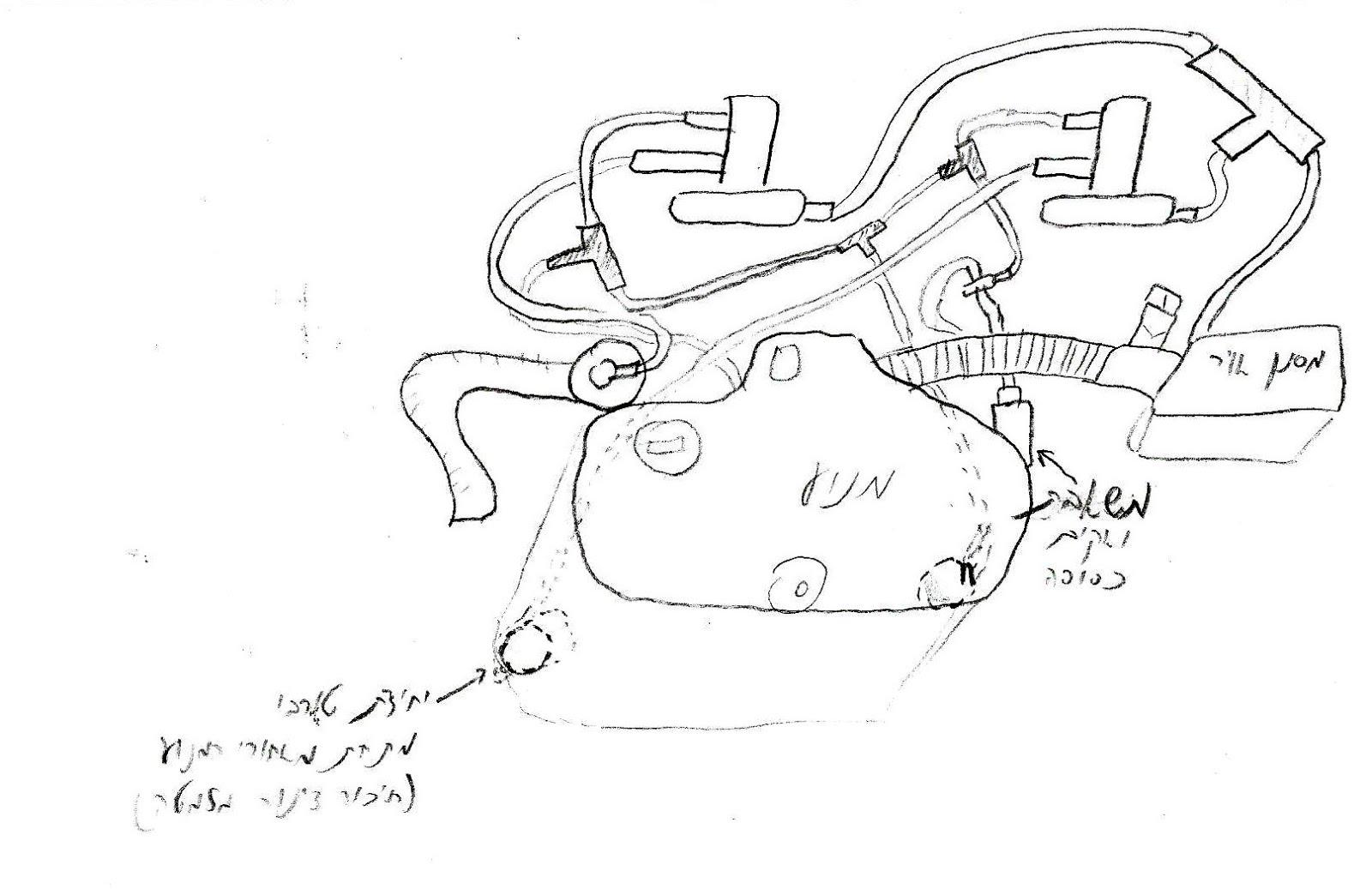 Me Ol Blog Skoda Octavia Mk 2 Year 2002 Vacuum Pipes Layout Engine Diagrams Top View Of
