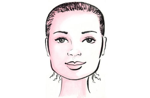 beautiful me plus you: The Right Hairstyle for Your Face Shape