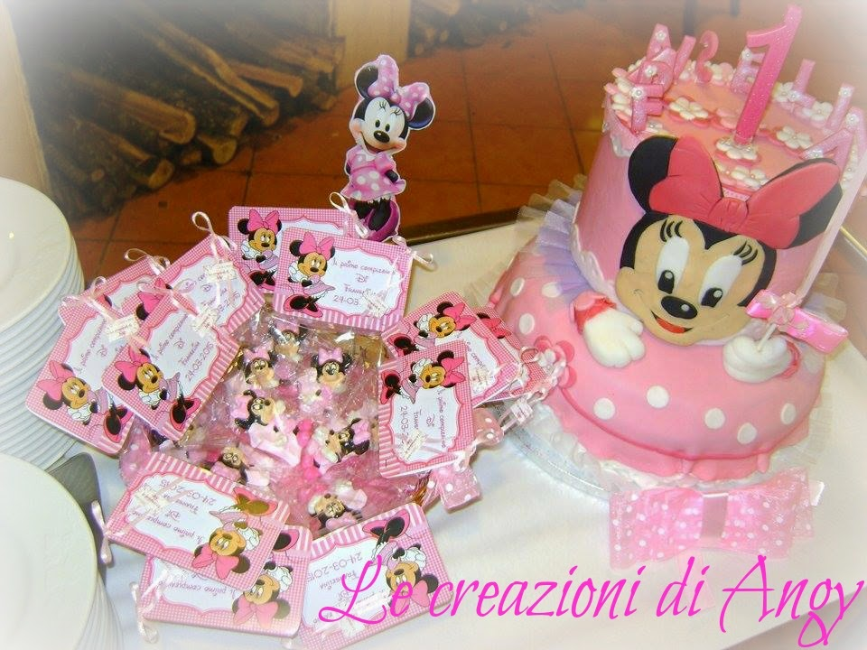 Favoloso Le creazioni di Angy: Il primo compleanno di Franselina RE07