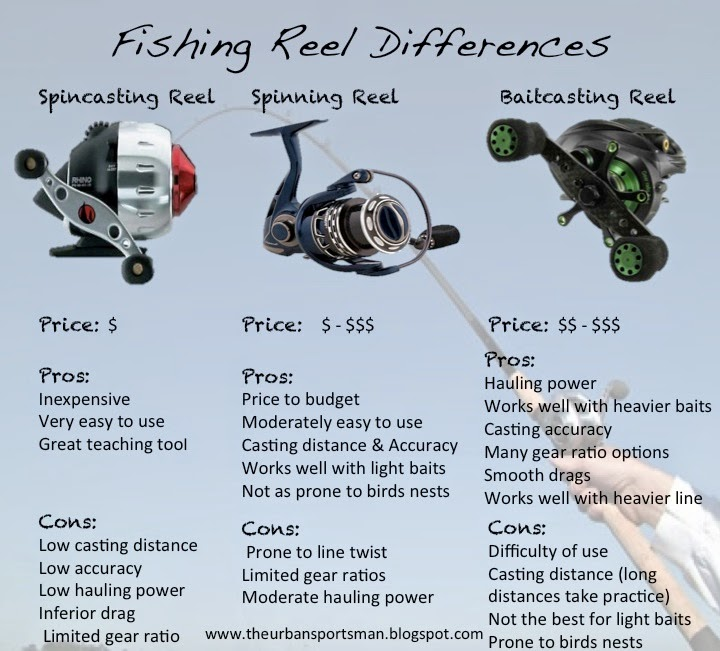 Fishing pole reel types images for How to reel in a fish