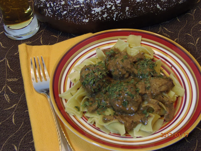 German Caraway Meatball Recipe