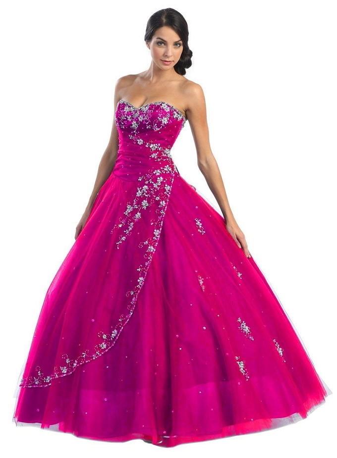 Perfect Purple Prom Dress For Any Kind Of Party To Make Elegant