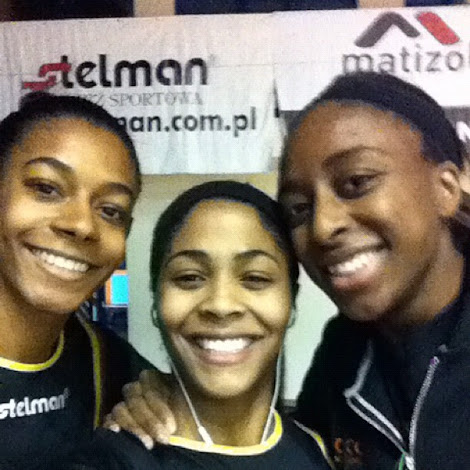 Gilbreath, Colson and Ogwumike in Poland