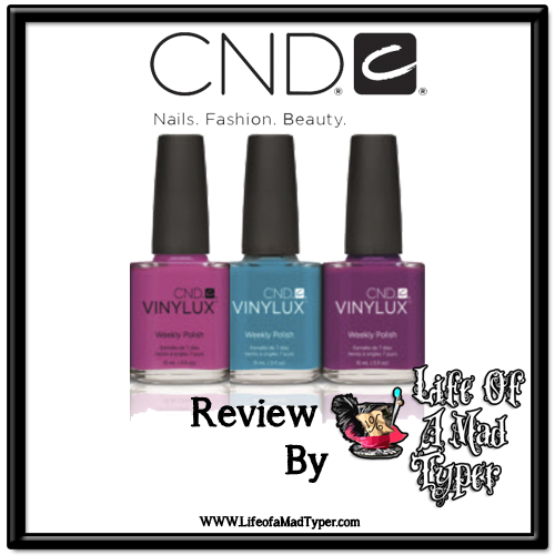 CND Summer VINYLUX weekly polish