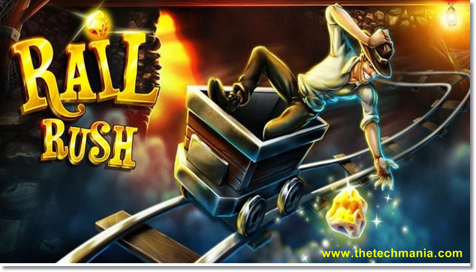 rail rush free  for windows 8