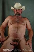Cowboy safado e barbudo