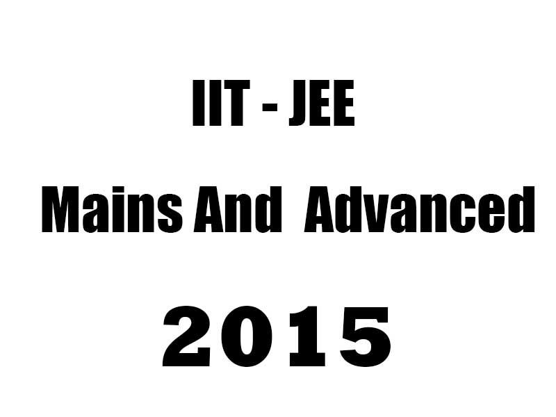 IIT JEE 2015