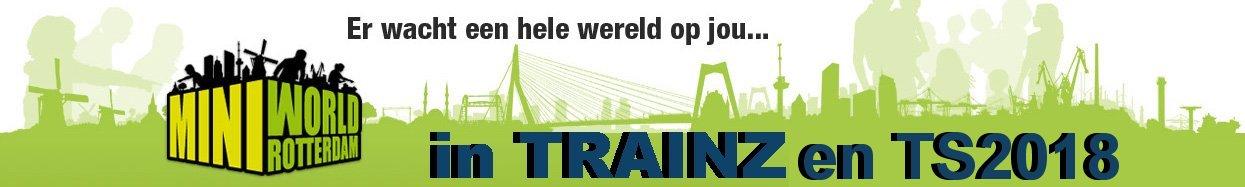 Miniworld Rotterdam in Trainz en TS2018