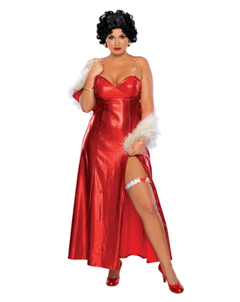 Plus size jessica rabbit dress