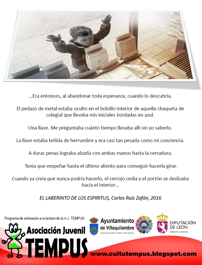 Lee EL LABERINTO DE LOS ESPÍRITUS