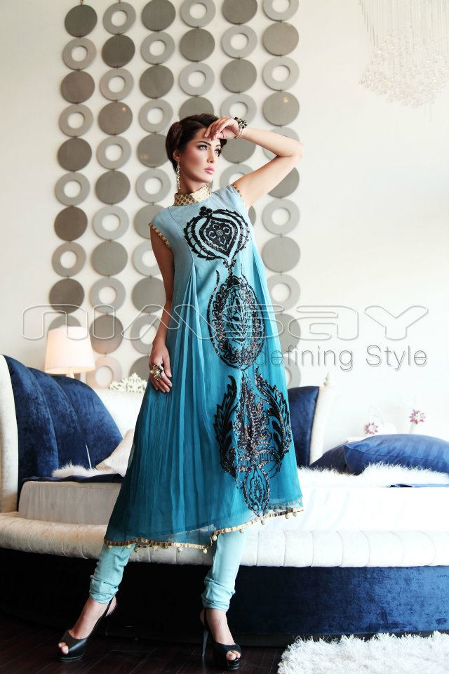 Chiffon Dresses for Girls 2012