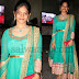 Sea Blue Anarkali Salwar