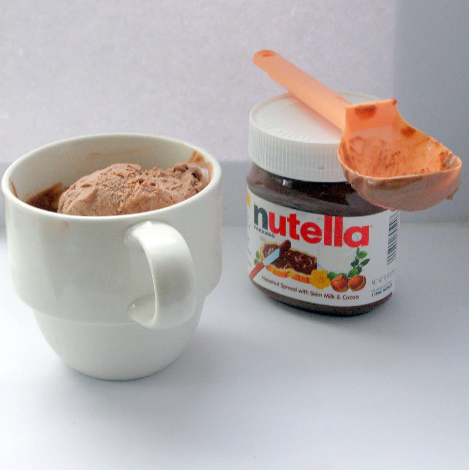 The Growing Foodie: Sassy Sweets: Nutella Ice Cream