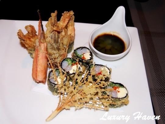 lone pine matsu japanese ebi sushi tempura rolls
