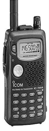 Icom IC-T81A