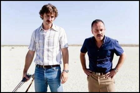 Raúl Arévalo y Javier Gutiérrez en La isla mínima