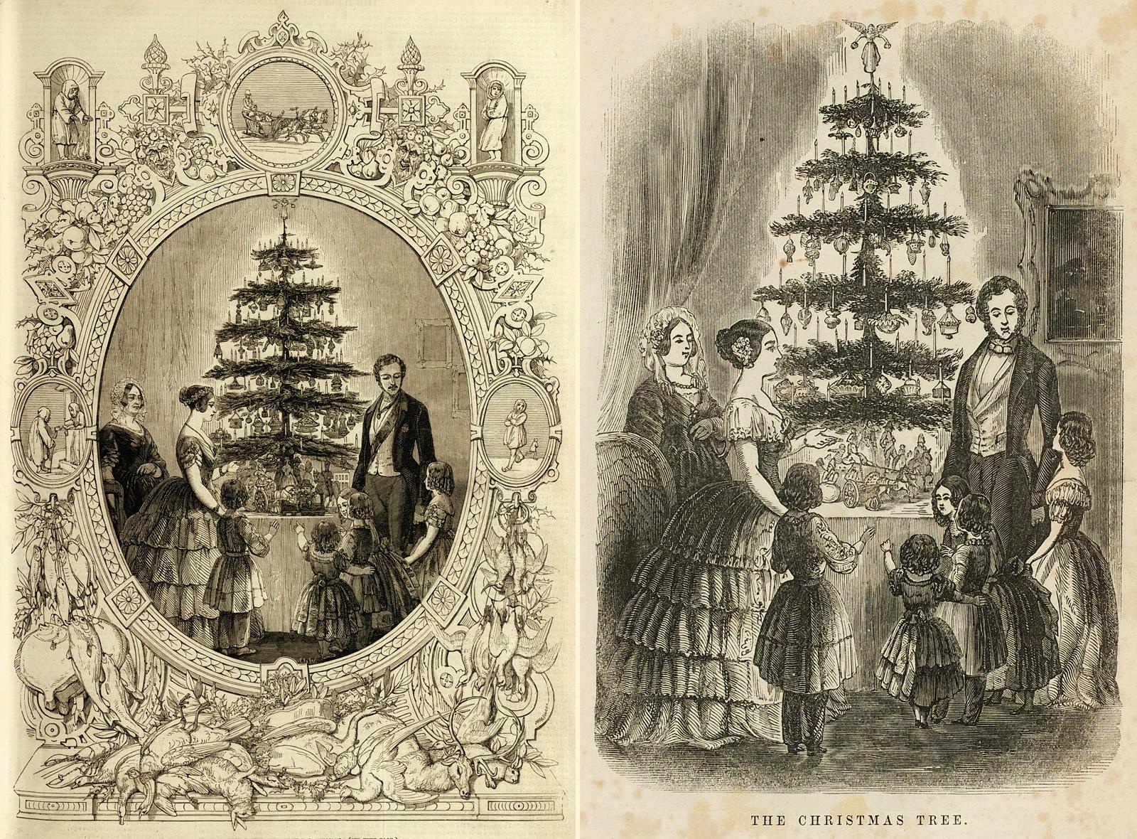 Pre Gébelin Tarot History Luther Cranach And Christmas Trees - Medieval Christmas Tree