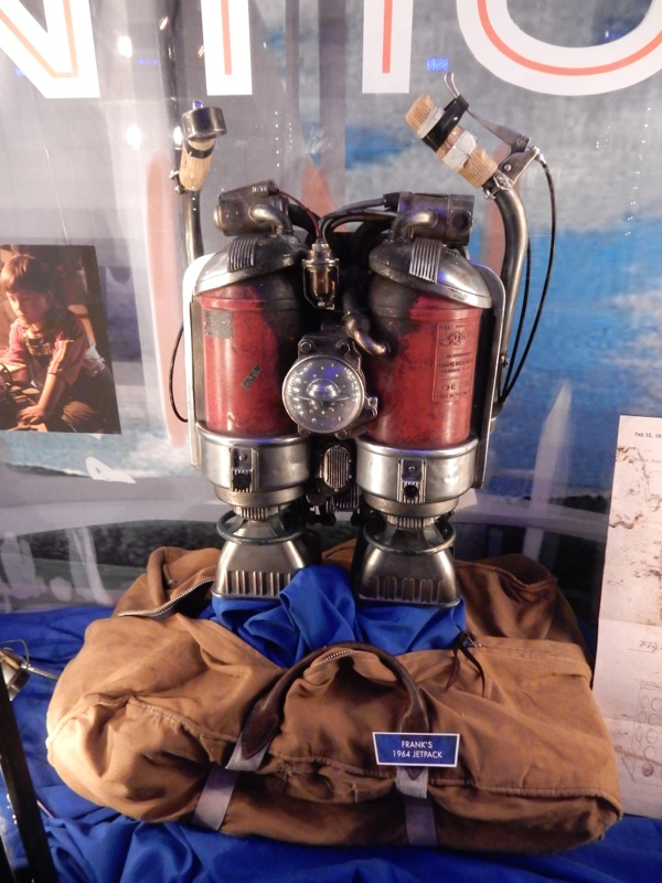 Tomorrowland 1964 jetpack prop