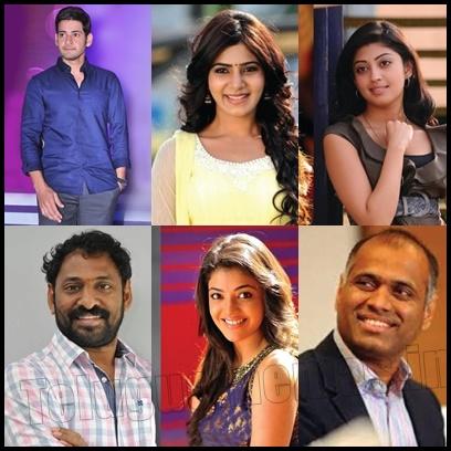 Samantha,Pranitha,Kajal in Maheshbabu Brahmotsavam