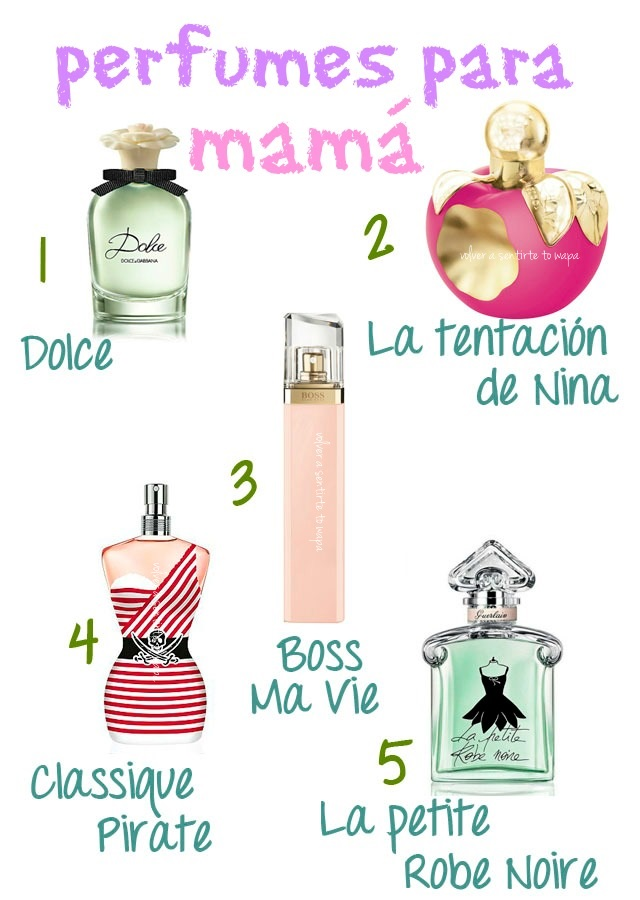5 Perfumes para regalar a mamá
