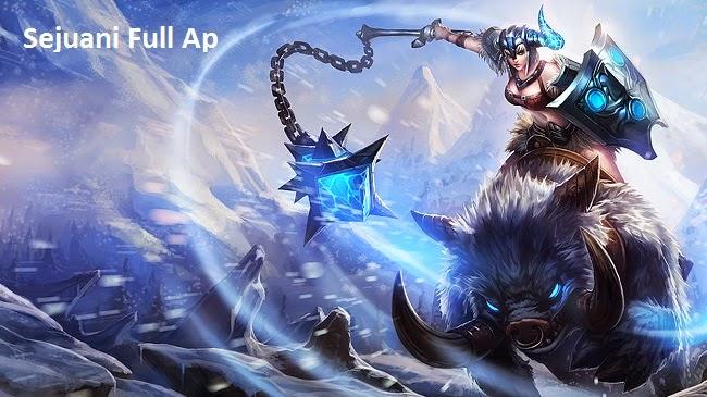 Sức mạnh Sejuani lên đồ Full AP