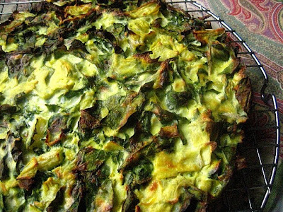 Stacey Snacks: Tuesday Tart: Kale, Ricotta & Artichoke