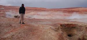 Zona de actividad volcanica