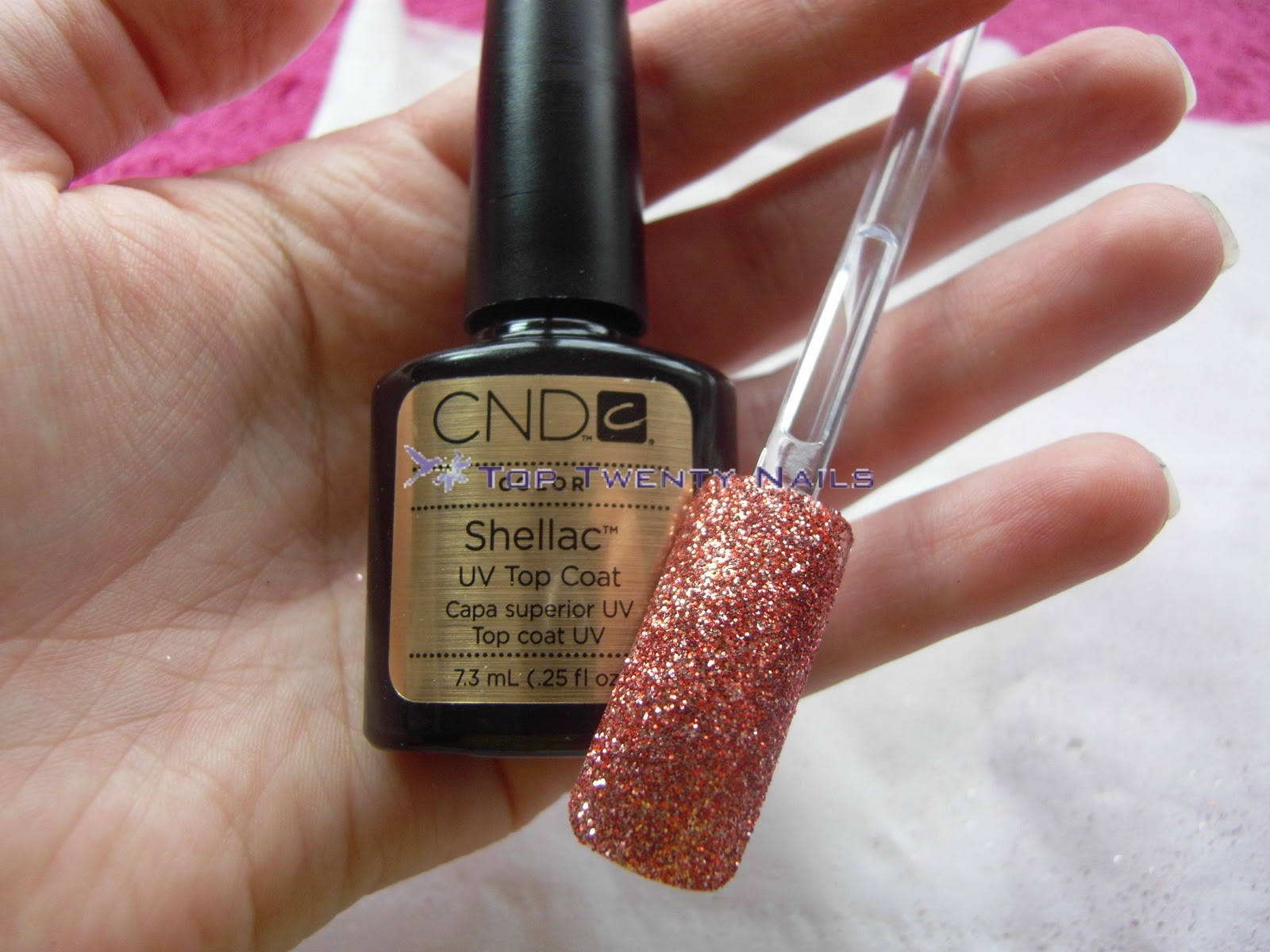 TopTwentyNails: \'Rockstar\' Nail Tutorial - A picture heavy post!!