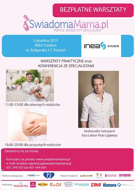 Bezpłatne warsztaty dla rodziców Świadoma Mama -> grudziń 2015 r. w Poznaniu