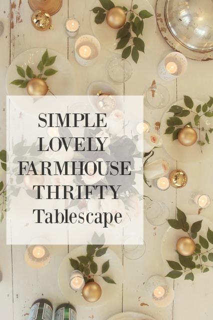 SIMPLE TABLESCAPE