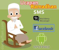 Ucapan Ramadhan untuk SMS dan Facebook