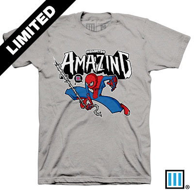 "Lain Lee 3 Designs x The Amazing Spider-Man T-Shirt ""Amazing"""