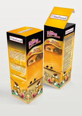 produk sihat sunnah, packaging, design packaging, print kotak, design kotak,