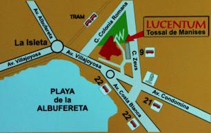 Localización según el Marq