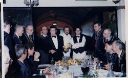 Agape dei 25 anni al Ristorante Silverio di Via Mirasole a Bologna