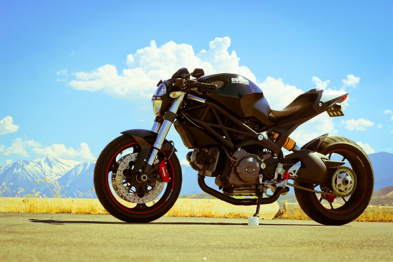 Ducati Monster Swingarm Conversion