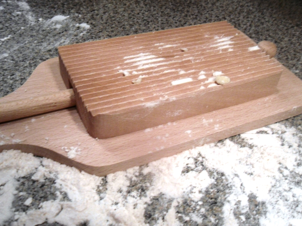 how to make a gnocchi board