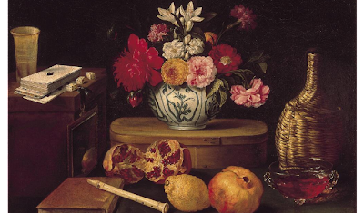 Jacques Linard - Still Life: The Five Senses with Flowers, 1639