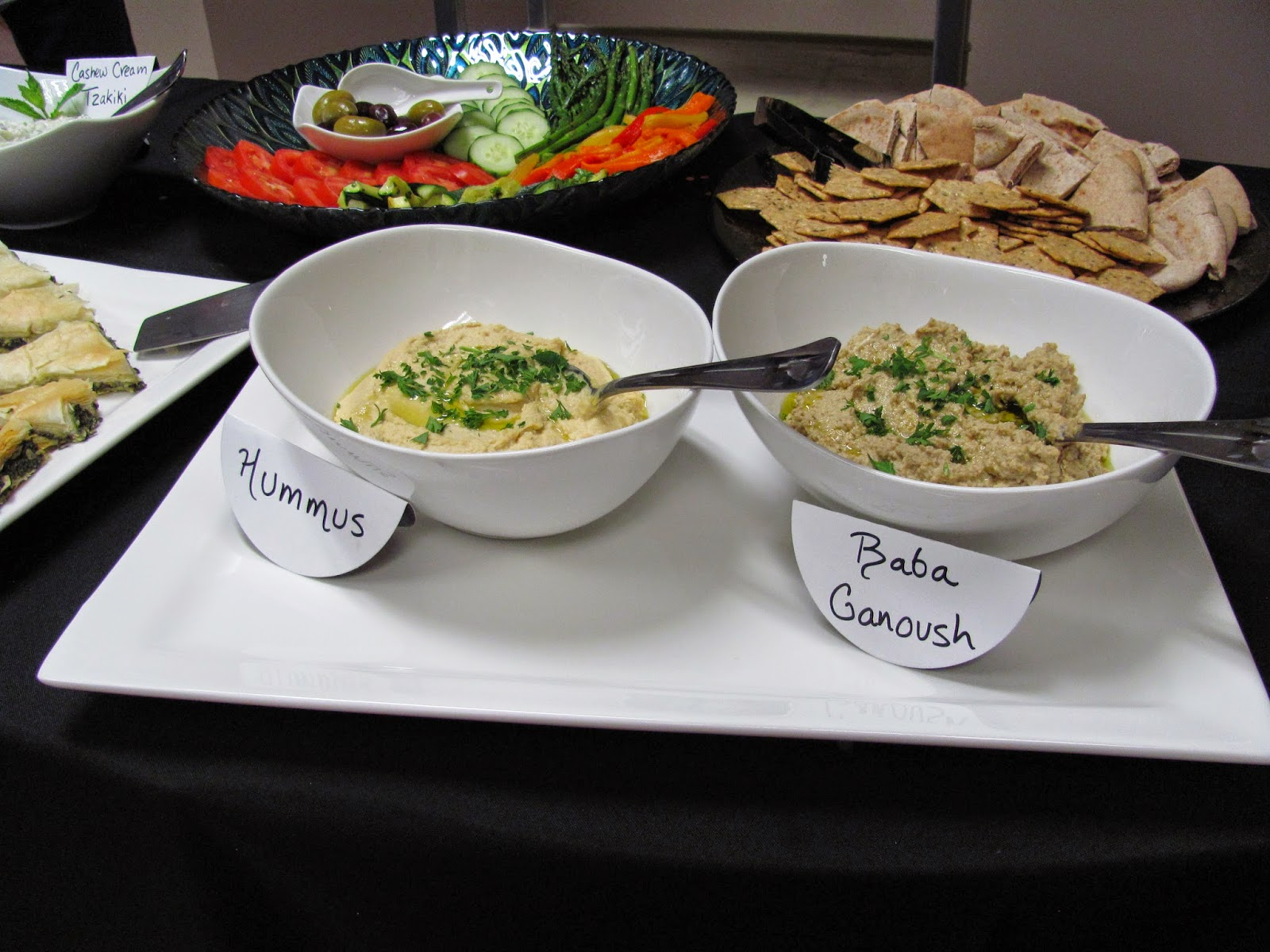 From Scratch Hummus and Baba Ganoush