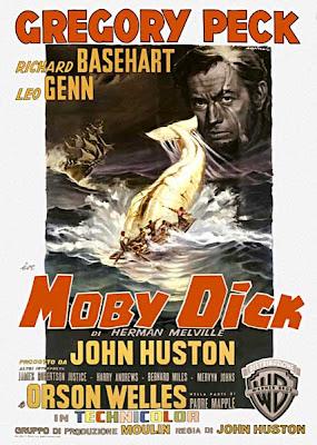 Moby Dick, 1956, locandina italiana