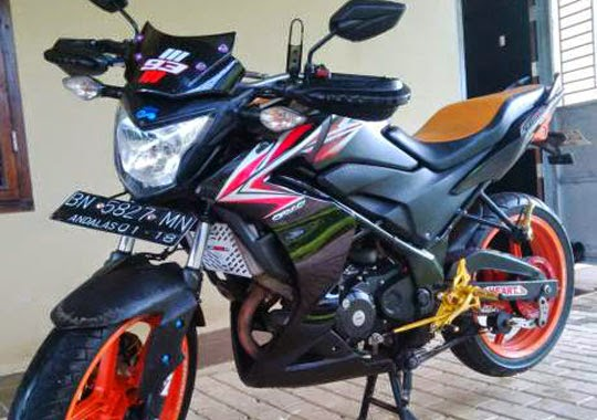 Model Modifikasi CB150R Half Fairing