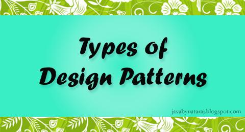 Different Types of design patterns_JavabynataraJ