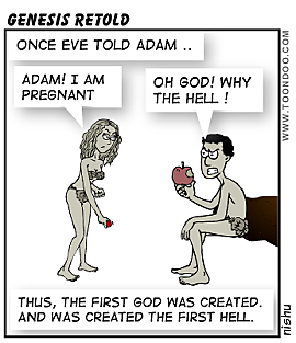 Tags : genesis god hell adam eve pregnant