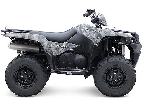 2013 Suzuki KingQuad 500AXi Power Steering Camo ATV pictures. 480x360 pixels