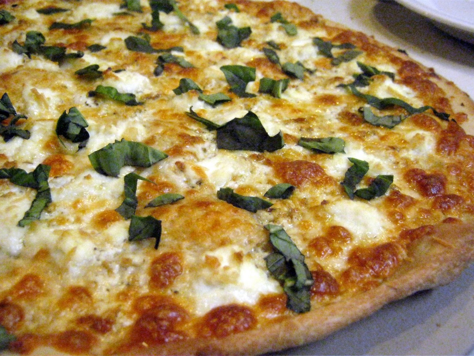 walker whims four cheese white pizza. Black Bedroom Furniture Sets. Home Design Ideas