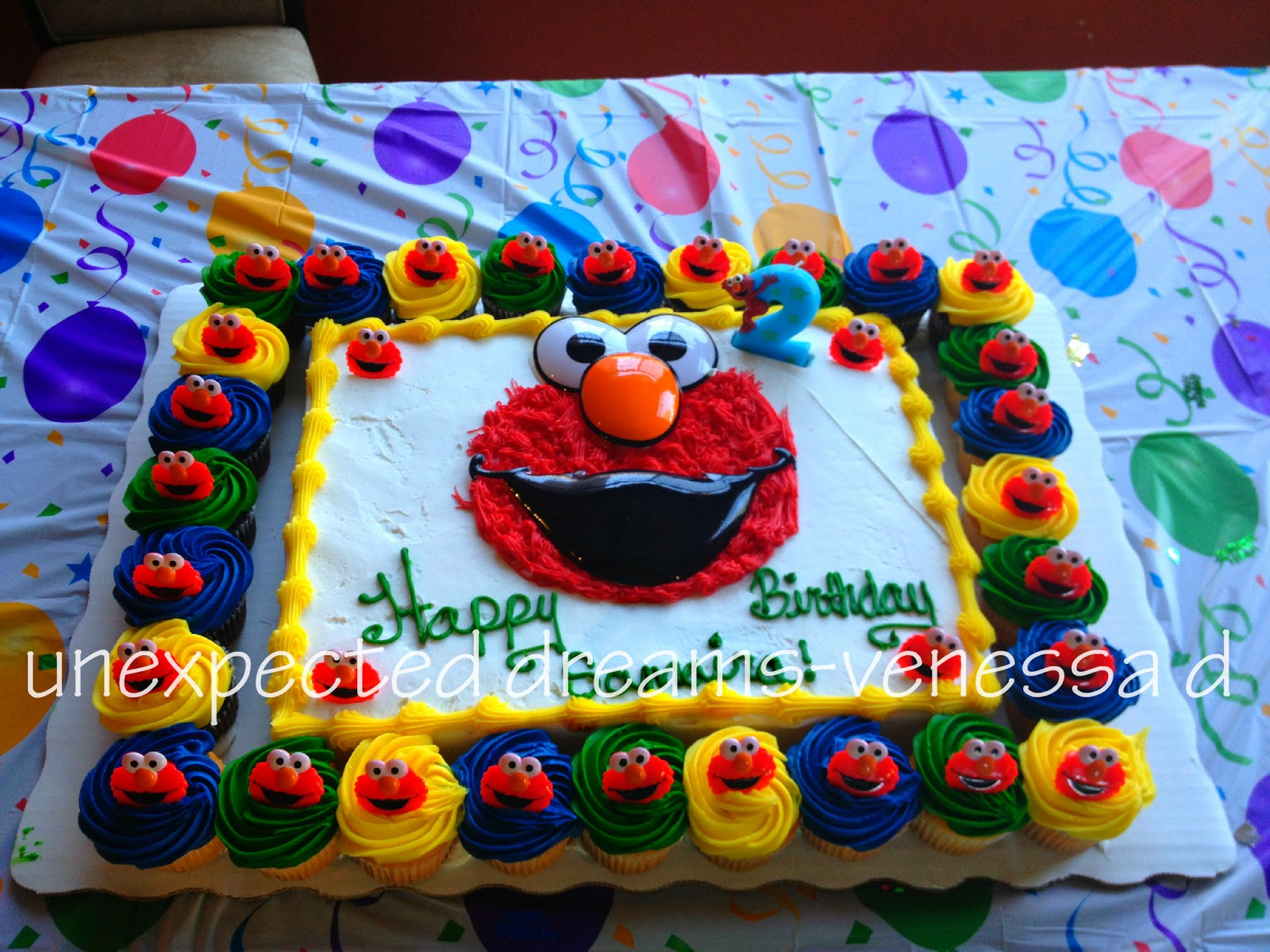 Sams Club Elmo Cake Ideas and Designs