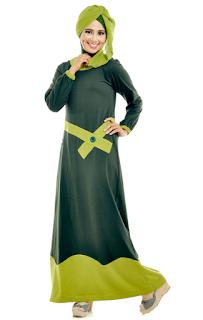 Desain Baju Gamis Terbaru