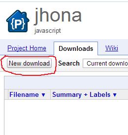 Klik New Download